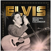 Elvis Square 2020 Calendar - Official Square Wall Format Calendar