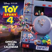 Toy Story 4 2020 Calendar - Official Square Wall Format Calendar