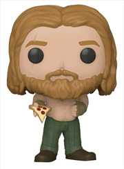 Avengers 4: Endgame - Thor with Pizza Pop! Vinyl | Pop Vinyl
