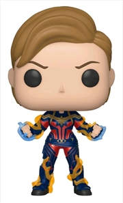 Avengers 4: Endgame - Captain Marvel New Hair Pop! Vinyl | Pop Vinyl