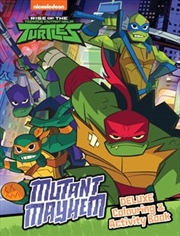 Rise of the Teenage Mutant Ninja Turtles Mutant Mayhem Deluxe Colouring Book | Paperback Book