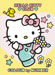 Hello Kitty Colour By Number | Paperback Book