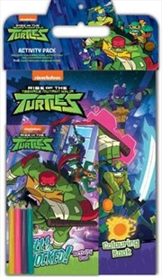 Rise of the Teenage Mutant Ninja Turtles Activity Pack | Paperback Book