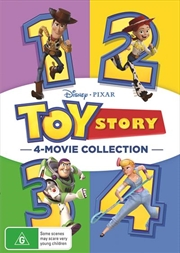 Toy Story Quadrilogy | DVD
