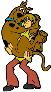 Scooby Doo - Scooby & Shaggy Enamel Pin