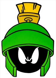 Looney Tunes - Marvin the Martian Enamel Pin | Merchandise