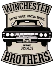 Supernatural - Winchester Brothers Enamel Pin