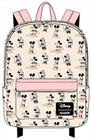 Mickey Mouse - Mickey & Minnie Pastel Backpack