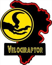 Jurassic Park - Velociraptor Map Enamel Pin