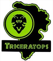 Jurassic Park - Triceratops Map Enamel Pin | Merchandise