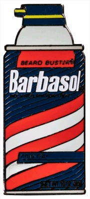 Jurassic Park - Barbasol Shaving Cream Enamel Pin | Merchandise