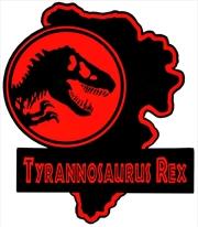 Jurassic Park - Tyrannosaurs Rex Map Enamel Pin | Merchandise