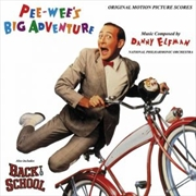 Pee-Wee's Big Adventure / Back To School | Vinyl