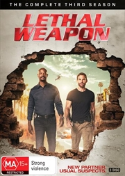 Lethal Weapon - Season 3 | DVD