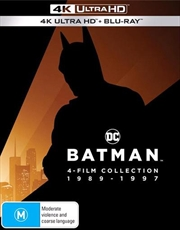 Batman | Blu-ray + UHD - 4 Pack - 4-Film Collection