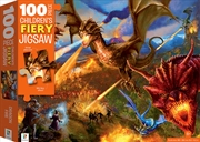 100-Piece Children's Jigsaw with Treatments: Dragons | Merchandise