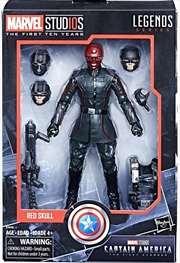 Red Skull Action Figure – Legends Series – Marvel Studios 10th Anniversary | Merchandise