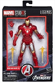 Marvel Studios: The First Ten Years The Avengers Iron Man Mark VII | Merchandise