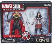 Marvel Studios: The First Ten Years Thor: The Dark World Thor and Sif | Merchandise