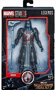 Marvel Legends Cinematic Universe MCU 10th Anniversary Ronan the Accuser Figure | Merchandise
