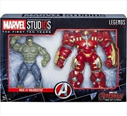 Marvel Studios Legends Series Hulk/Hulkbuster (2-Pack) Avengers | Merchandise