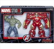 Marvel Studios Legends Series Hulk/Hulkbuster (2-Pack) Avengers