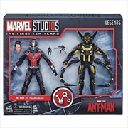 Hasbro Marvel Legends 10th The First Ten Years Ant Man And YellowJacket | Merchandise