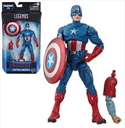 Avengers Endgame Marvel Legends Thor Series Captain America Action Figure | Merchandise