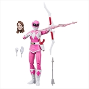 Mighty Morphin Power Rangers Lightning Collection Pink Ranger Action Figure | Merchandise