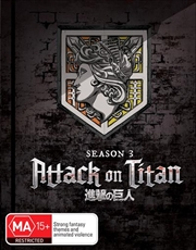 Attack On Titan - Season 3 - Part 1 - Eps 1-12 - Limited Edition | Blu-ray + DVD | Blu-ray/DVD