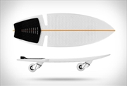 Razor Ripsurf Waveboard Caster Skateboard Surf Simulator Longboard