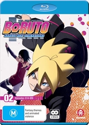 Boruto - Naruto Next Generations - Part 2 - Eps 14-26 | + Ova | Blu-ray