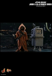Star Wars - Jawa & EG-6 Power Droid 1:6 Scale Action Figure Set | Merchandise