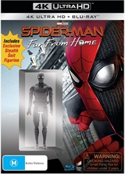 Spider-Man - Far From Home (Exclusive Stealth Suit Figurine & BONUS ART CARD) | UHD