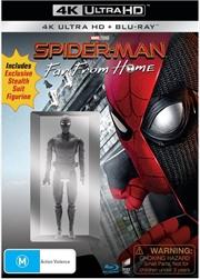 Spider-Man - Far From Home (Exclusive Stealth Suit Figurine & BONUS ART CARD)