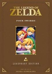 Legend of Zelda: Legendary Edition, Vol. 5: Four Swords   Paperback Book