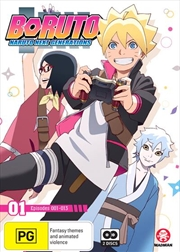 Boruto - Naruto Next Generations - Part 1 - Eps 1-13 | DVD