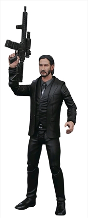 John Wick - Black Suit Action Figure | Merchandise