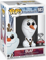 Frozen 2 - Olaf Diamond Glitter Pop! RS | Pop Vinyl