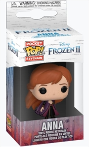Frozen 2 - Anna Pop! Keychain | Pop Vinyl