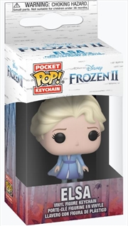 Frozen 2 - Elsa Pop! Keychain | Pop Vinyl