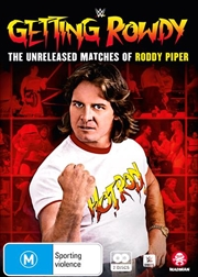 WWE - Getting Rowdy - The Unreleased Matches Of Roddy Piper | DVD