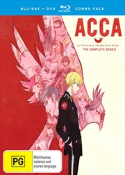ACCA | Blu-ray + DVD - Complete Series