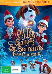 Elf Pets - Santa's St. Bernards Save Christmas | DVD