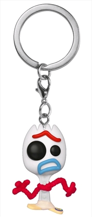 Toy Story 4 - Forky US Exclusive Pocket Pop! Keychain [RS] | Pop Vinyl
