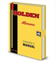Holden - Monaro Owners Manual | Merchandise