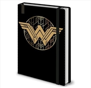 Wonder Woman Badge A5 Premium | Merchandise