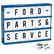 Ford Light Up Box With Letters | Accessories