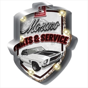 Holden Monaro Light Up Tin Sign | Merchandise
