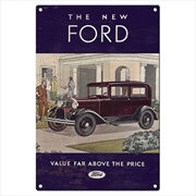 Ford Hertiage Tin Sign